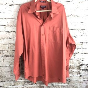 NORDSTROM WRINKLE MENS SIZE XXL SHIRT